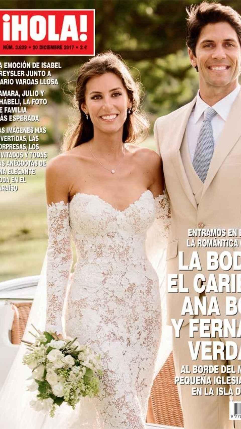 La portada de la revista HOLA.