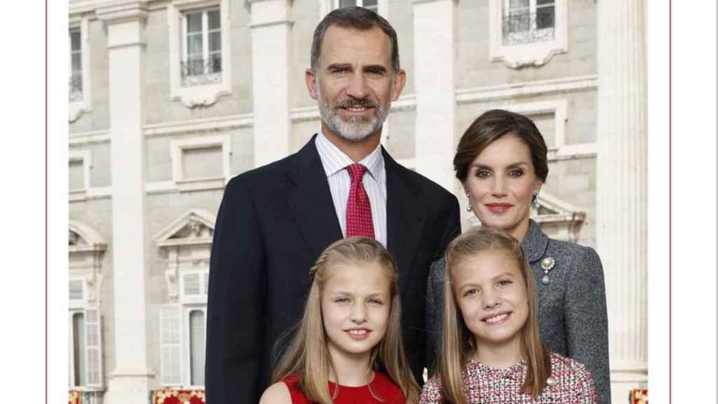 Felicitación de Navidad de la Casa Real.