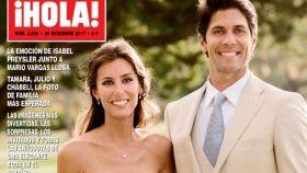 Ana Boyer y Fernando Verdasco en la revista ¡HOLA!