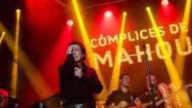 Raphael en un concierto de su gira.