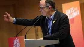 Jordi Turull en un mitin electoral el pasado viernes./