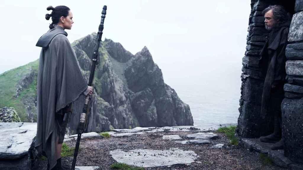 Fotograma de Los últimos Jedi.