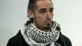 Rodrigo Lanza, tras salir de la cárcel.