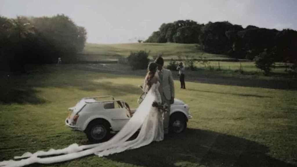 Una fotografía de la boda de Ana Boyer y Fernando Verdasco.