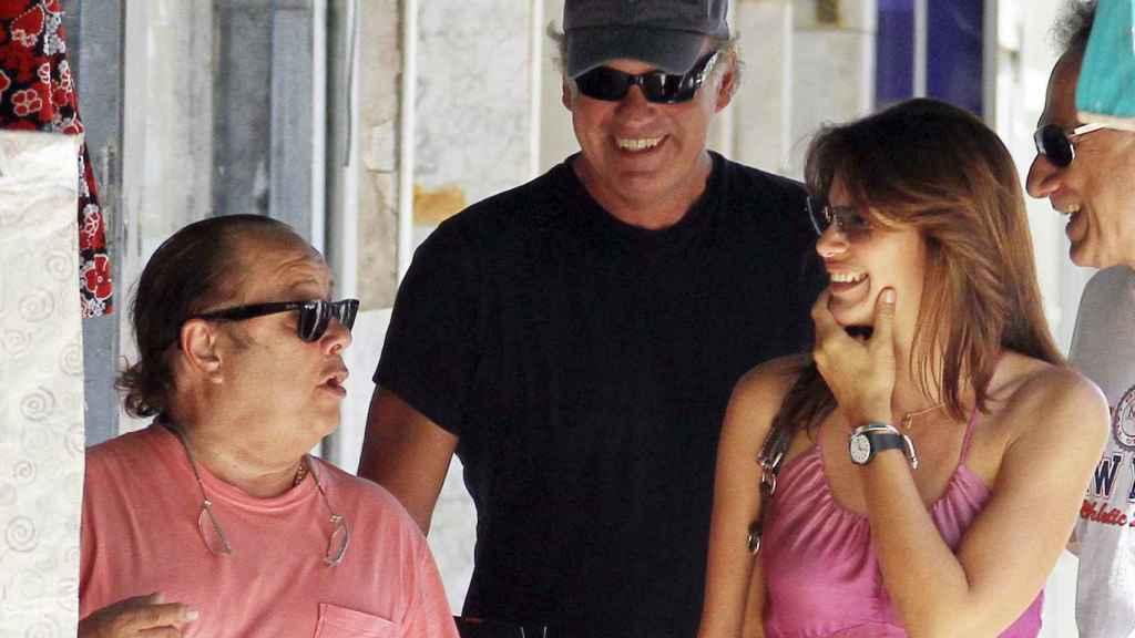 La relación fraternal entre los humoristas les llevó a compartir infinidad de momentos, incluso con la mujer de Bertín, Fabiola.