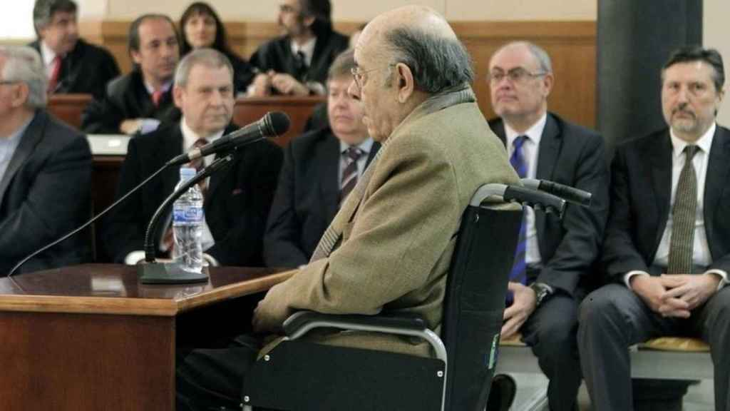 Félix Millet, durante el juicio del caso Palau