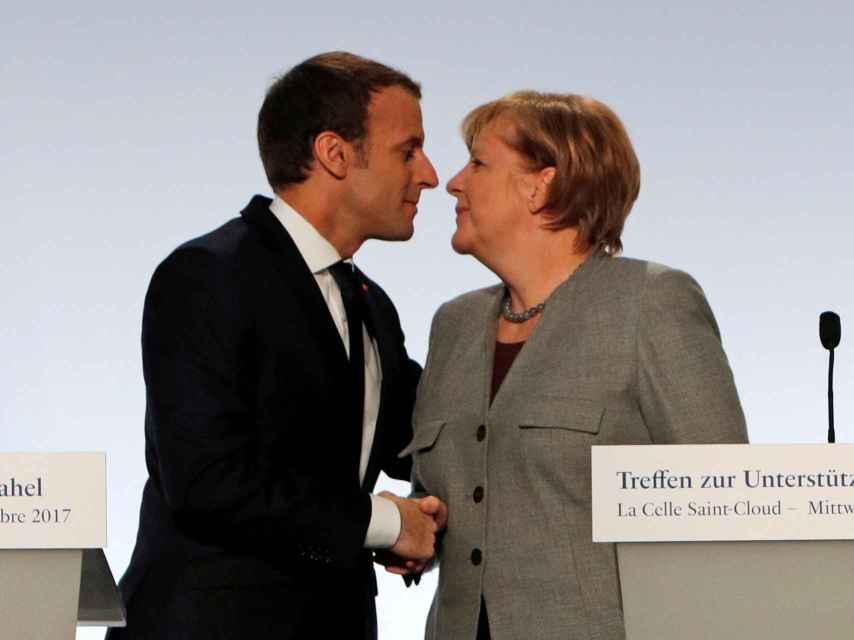 Macron y Merkel no están de acuerdo sobre la reforma de la eurozona