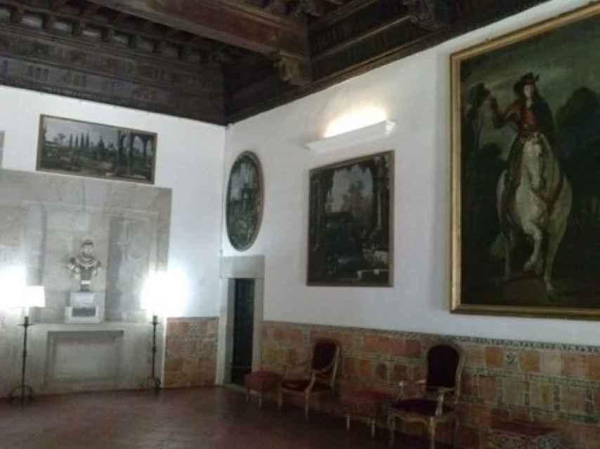 La obra en el Palacio de Mirabel.