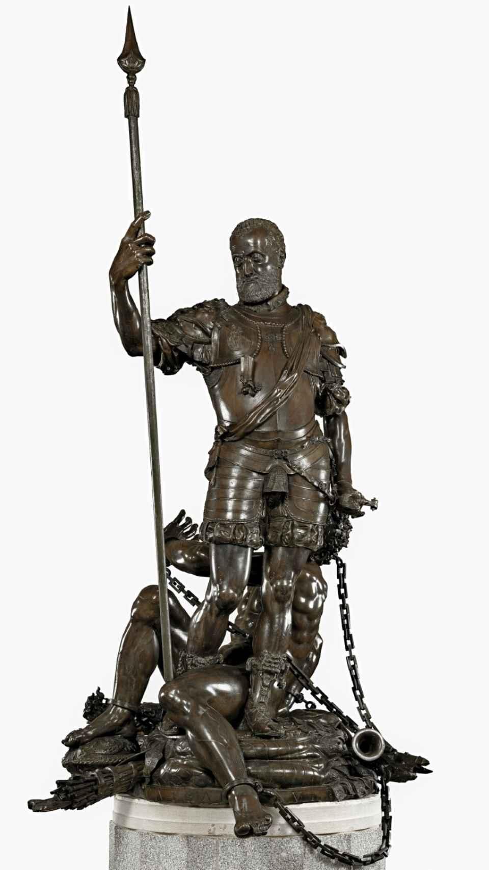 Carlos V y el furor, en el Museo del Prado.