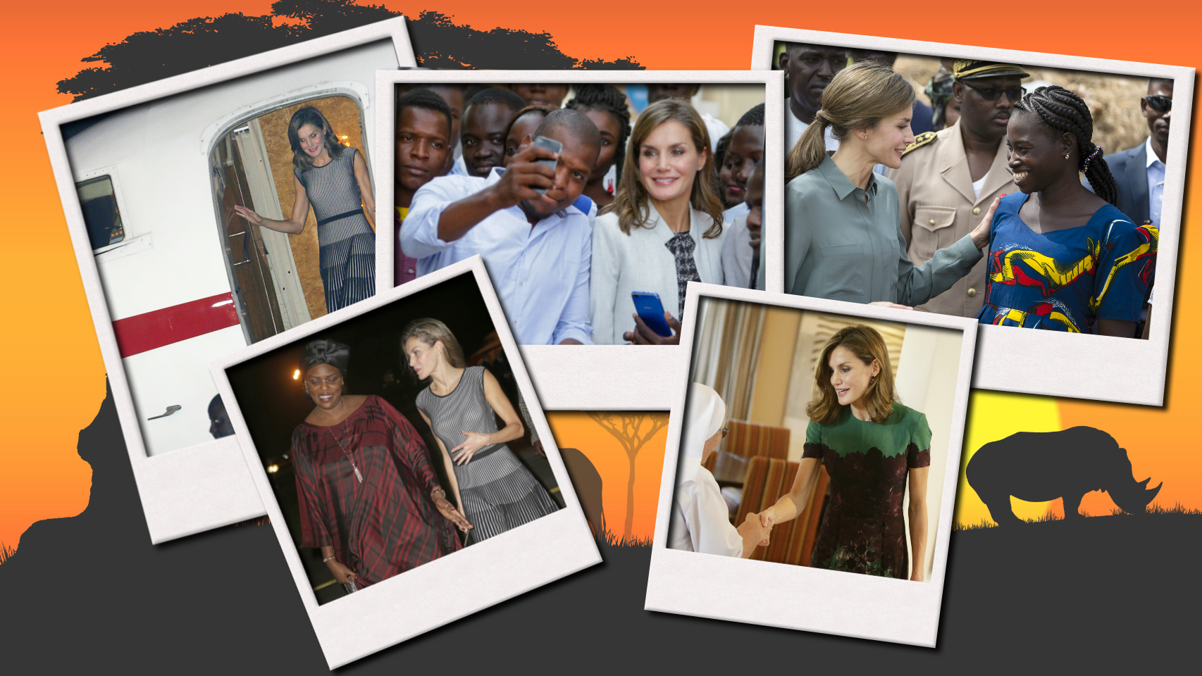 Las memorias de África de Letizia: sus cuatro días en Senegal, en imágenes
