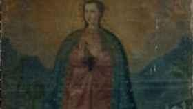Ésta es la pieza perdida, una Inmaculada con fecha de depósito de 1983