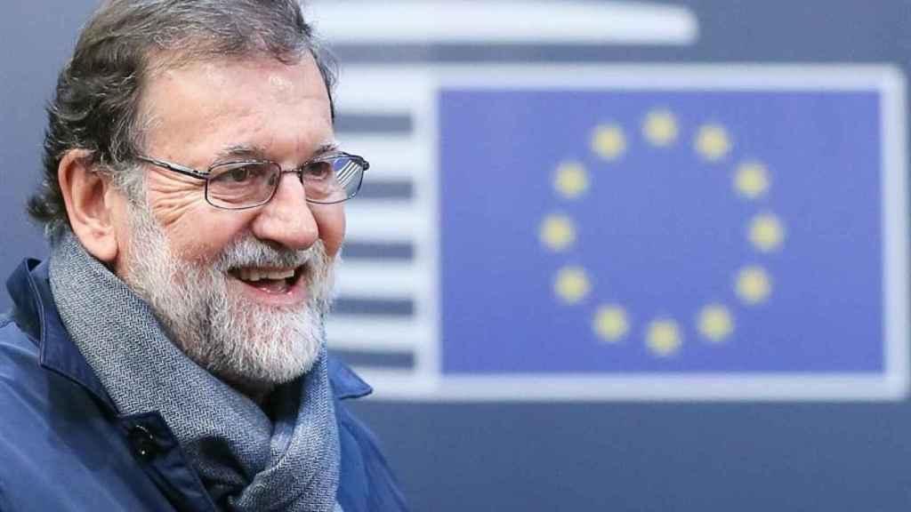 Rajoy, en Bruselas.