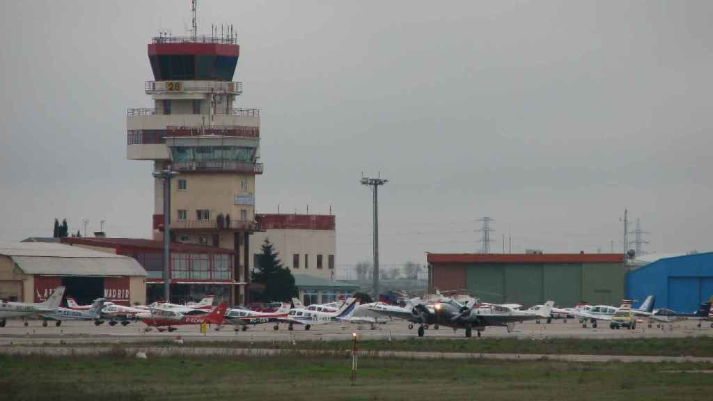 El aérodromo de Cuatro Vientos  en Madrid.