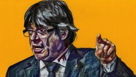 Carles Puigdemont, cabeza de lista de Junts per Catalunya