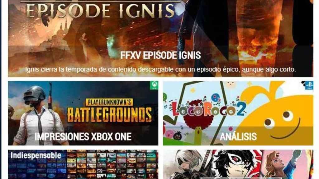 Vandal, el medio de videojuegos en español más completo