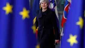 May no estaba invitada a la segunda jornada de la cumbre de la UE