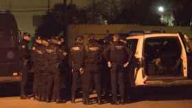 El operativo desplegado por la Guardia Civil en Andorra (Teruel) ha estado operativo toda la noche.
