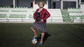 María Ruiz, directora de Radio Lebrija y locutora de fútbol durante 29 años.