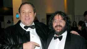 Harvey Weinsten y Peter Jackson en una imagen de archivo.