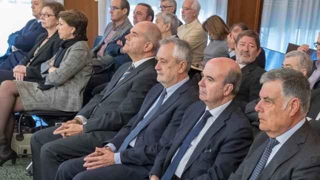 Chaves y Griñán, en el juicio de los ERE./