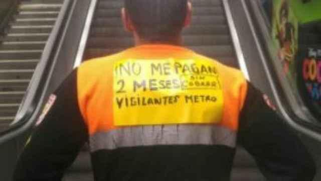 550 empleados de Seguridad del Metro de Madrid llevan dos meses sin cobrar.