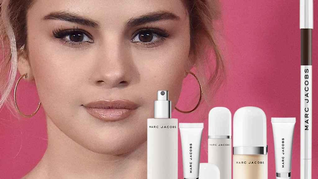 La línea de maquillaje de Selena Gómez by Marc Jacobs.