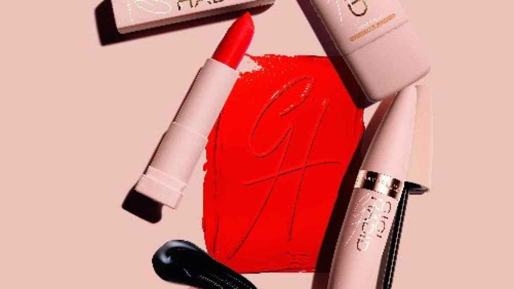 Imagen del maquillaje de Gigi Hadid para Maybelline NY.