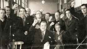 Miembros de la Generación del 27. Entre ellos, María Teresa León (en primer término) y Concha Méndez.