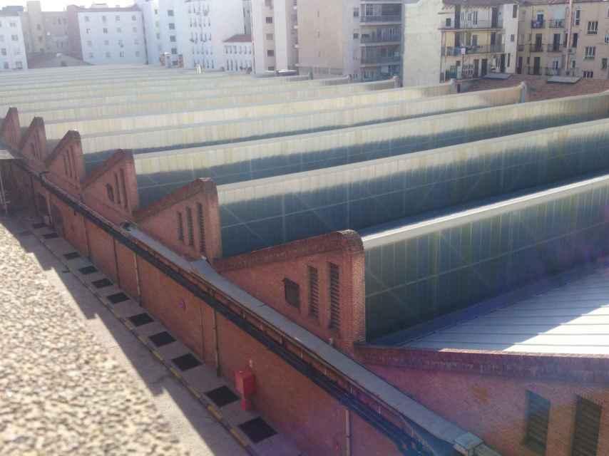 La nave más grande de España, en estructura de dientes de sierra