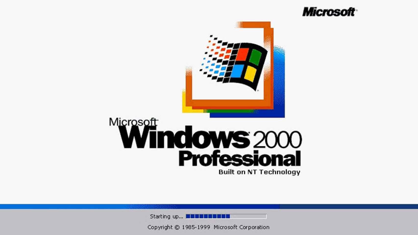 Resultado de imagen para windows 2000