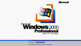 microsoft windows 2000 profesional built on nt technology
