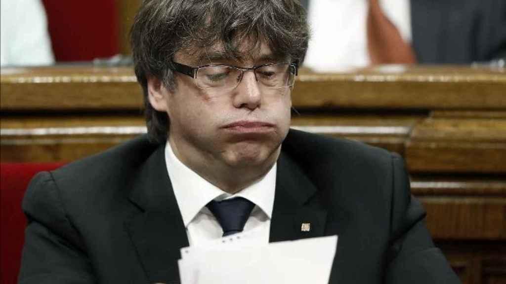 Puigdemont. EFE.