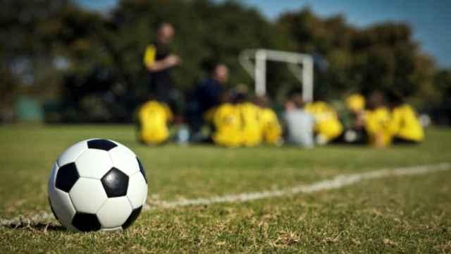 Fútbol base.