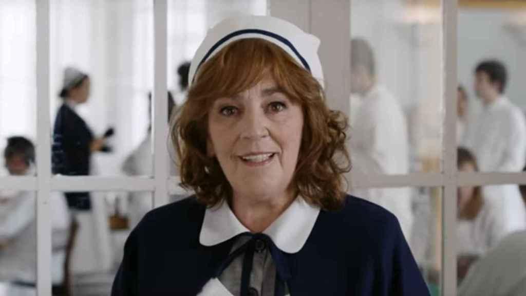 Carmen Saura en el anuncio de Campofrío.