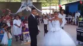 ¿Es esta la boda más triste de la historia?