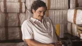 Walter Moura, como Pablo Escobar en Narcos.