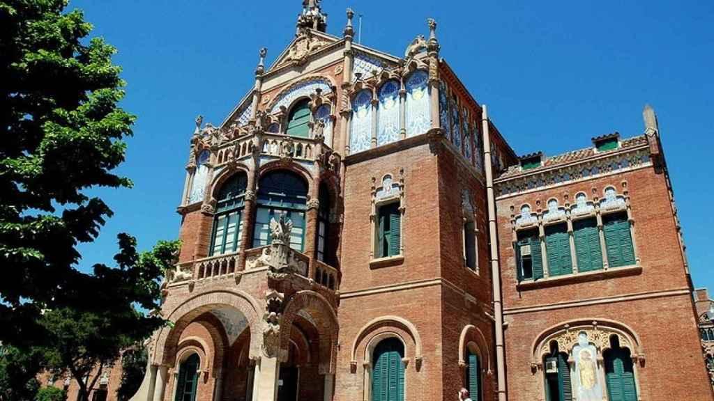 Antigua sede modernistas del Hospital de la Santa Creu i Sant Pau