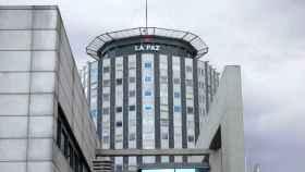 El Hospital La Paz, en Madrid.