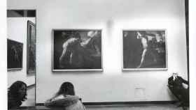 Una foto de archivo del Museo del Prado, del año 1977.