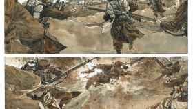 Fragmento de una de las páginas del cómic.