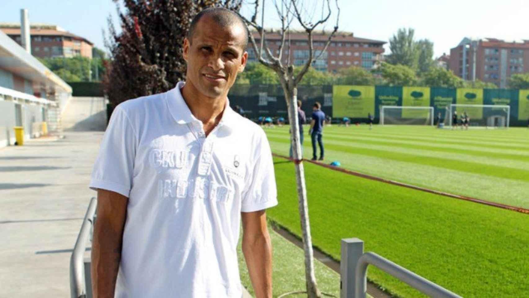 Rivaldo. Foto fcbarcelona.com