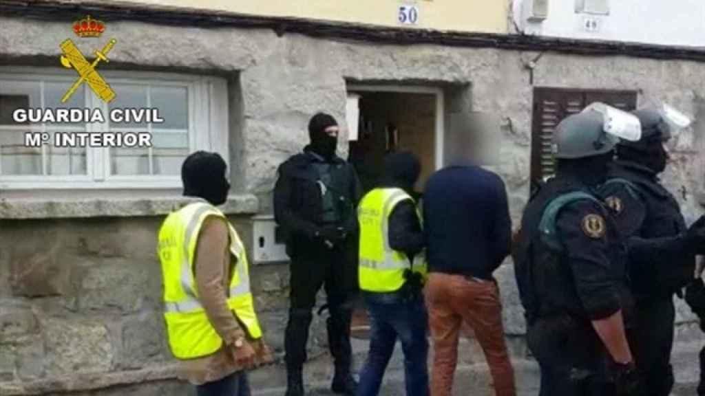 Imagen de una de las detenciones del pasado mes de abril.