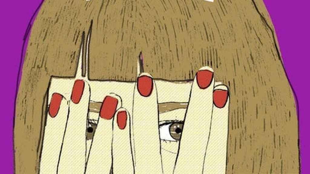 Portada de La chica miedosa que fingía ser valiente muy mal, de Barbijaputa.