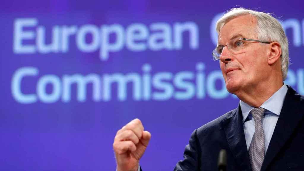 El negociador de la UE para el 'brexit', Michel Barnier