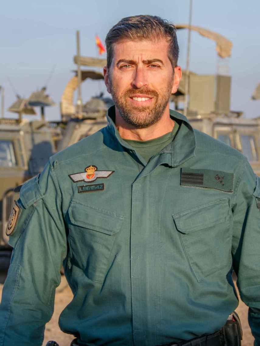 El guardia civil José Manuel Escamilla.