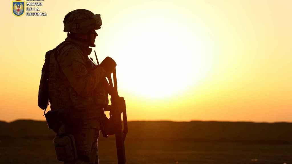España ha enviado siete relevos de soldados, un total de 2.500 efectivos, a esta misión en Irak.