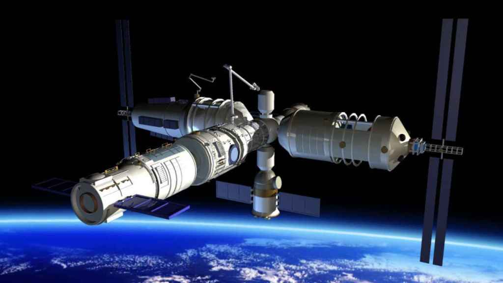 Estación Espacial Internacional.