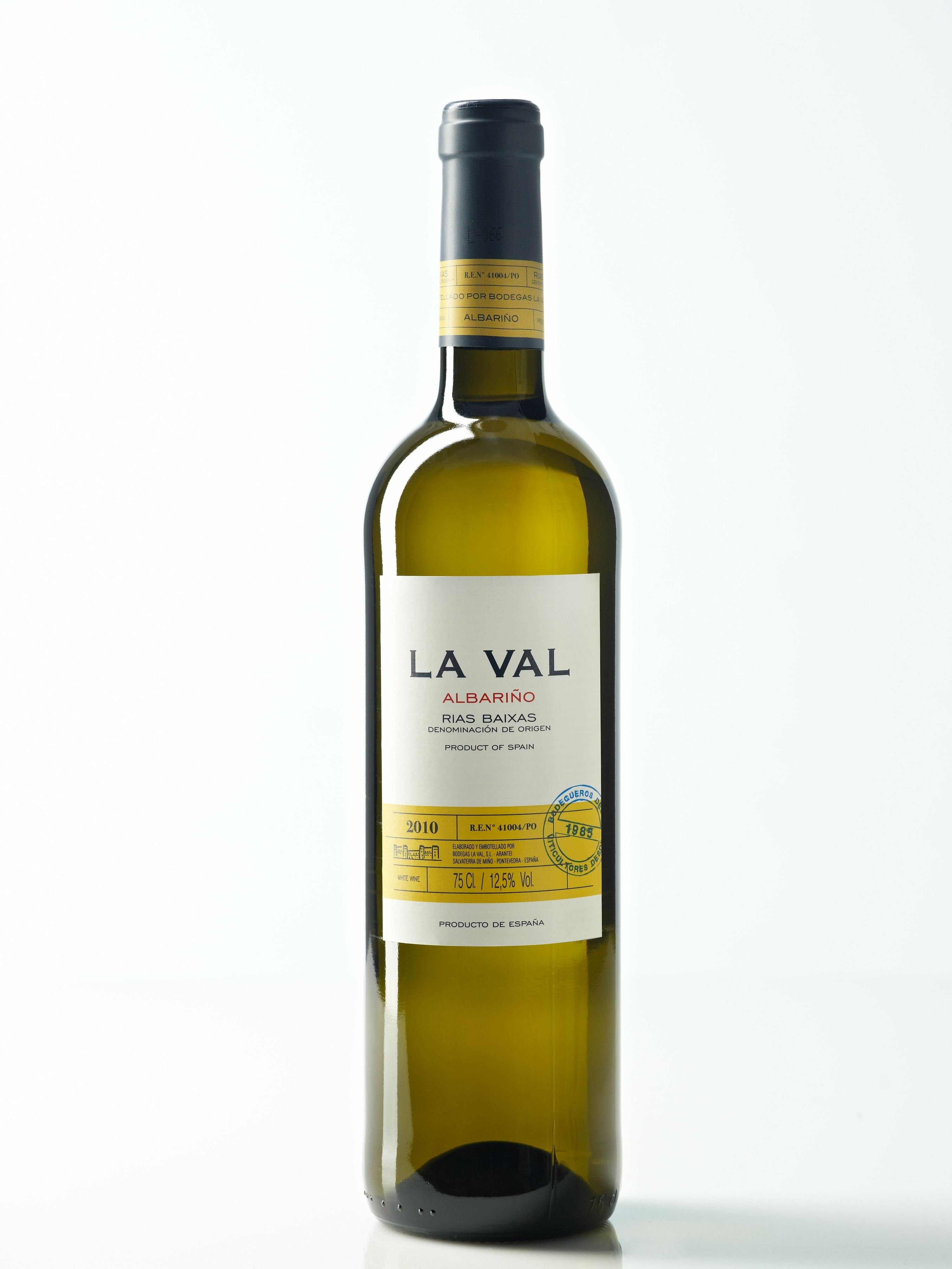 Botella La Val Corcho con cosecha - Alta Calidad-min