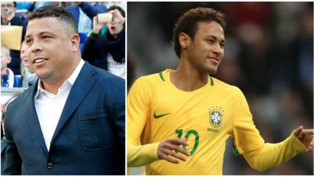 Ronaldo Nazario y Neymar