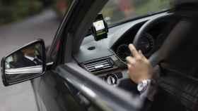 Conductor de Uber.